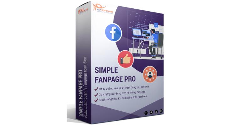 phần mềm quảng cáo facebook simple fanpage